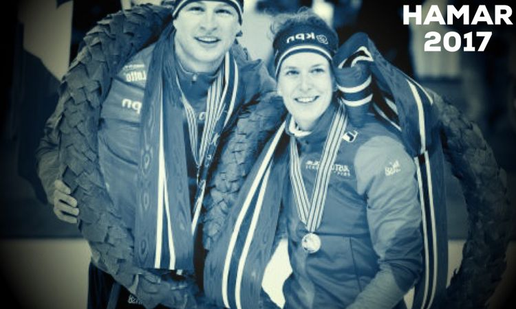 Viking rijders Wüst en Kramer wereldkampioen allround 2016-2017