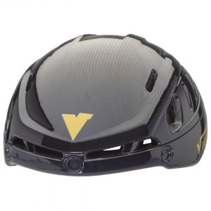 helmet sparrow black-gold- without visor