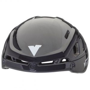 helmet sparrow black-zilver without visor
