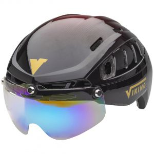 sparrow black-red inc trans. coated visor