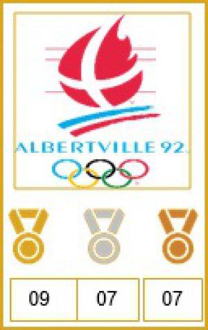 Viking Medal count: OS Albertville