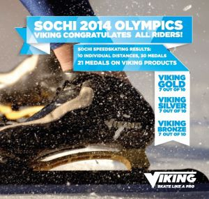 Viking Medal count: OS Sochi